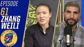 Zhang Weili talks being new UFC champion, potential next opponents | Ariel Helwani's MMA Show