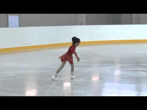 Первые соревнования юных фигуристов на олимпийском льду (Олимпстрой, Сочи)