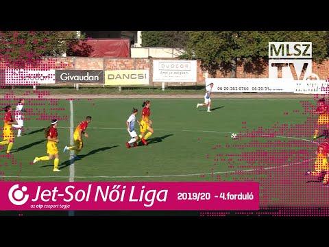 St.Mihály Szeged-FITSPORT - MTK Hungária FC | 1-2 | JET-SOL Liga | 4. forduló | MLSZTV