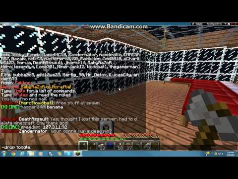 Minecraft 1.2.5 Duplicating items on MultiPlayer tutorial (Nodus Hack Client)  (Outdated)