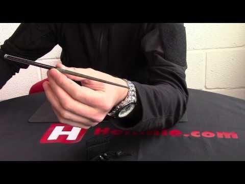 Spartan Blades Chopsticks Carbon fibre and Titanium