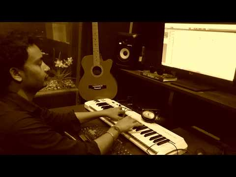Recording climax in VOX SAREGAMA studio.maja maarataru . during singer take( prakash chauhan).