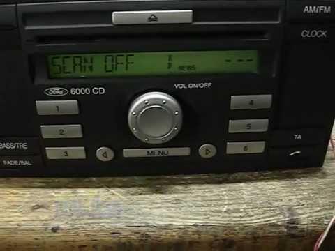FORD CD6000 Visteon CD-KW2000.