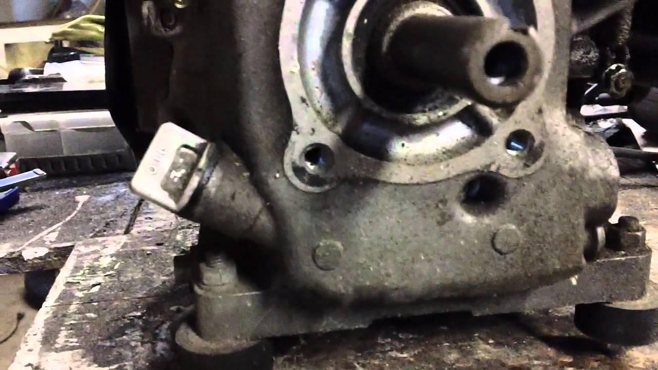Yamaha Golf Cart Engine
