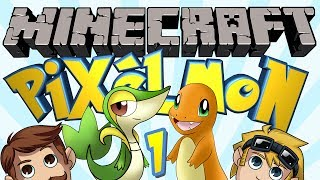 Minecraft Pixelmon (Pokemon Mod) #1 - FIRST CHOICE