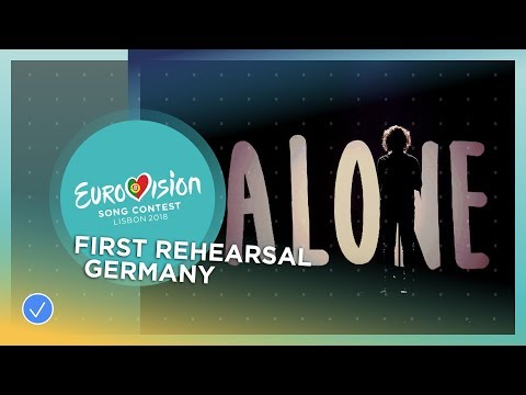 Michael Schulte - You Let Me Walk Alone - First Rehearsal - Germany - Eurovision 2018