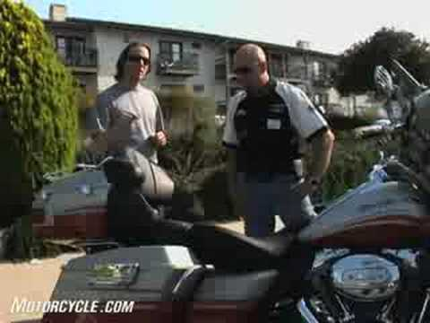 2009 Harley-Davidson CVO Models Motorcycle Review - CVO Ultra