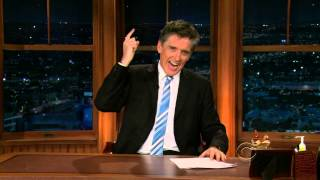 Late Late Show with Craig Ferguson 2/22/2010 Tom Everett Scott, Parker Posey