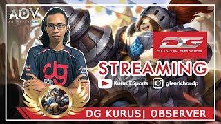 Live Stream |  DG Kurus AOV INDONESIA | MANGATS AOV INDONESIA !!!