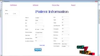Final Year Projects | Patient Information System
