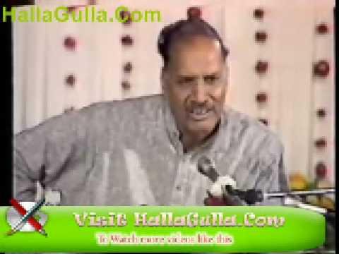Zafar Iqbal Poet Mushaira Zafar Iqbal Ghazal