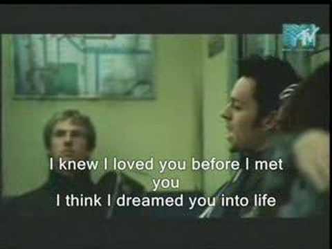Savage Garden I Knew I Love You With Lyrics On It Youtube