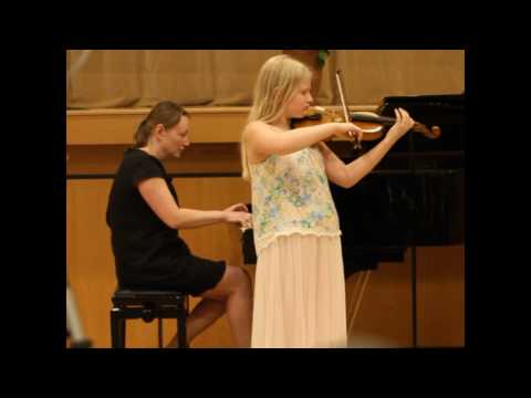 Maja Yoffe  F.Mendelssohn  Konzert für Violine mit Orchester e-moll 3. Satz