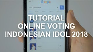 Cara Online Voting Indonesian Idol 2018