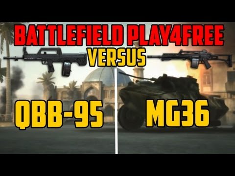 BFP4F VERSUS - QBB-95 vs MG36
