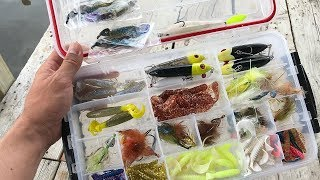 What's in my Marsh Tackle Box?