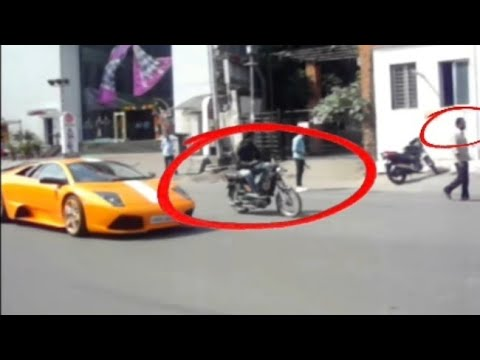 Lamborghini Murcielago spotted in Hyderabad (India)