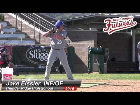 Jake Eissler Bp Video, Inf of, Thunder Ridge High School Class Of 2016 video