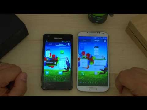 Galaxy S4 vs Galaxy S2 video confronto by HDblog