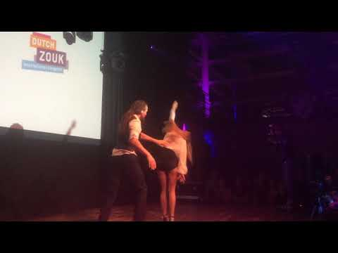 DIZC2014 Jolien and Willem in performance ~ video by Zouk Soul