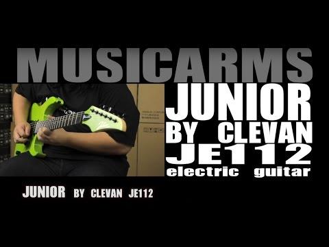 MA-รีวิว กีต้าร์ไฟฟ้า Junior by Clevan JE112 ราคา 3200 บาท