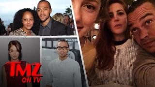 Jesse Williams – Hanging with Minka Kelly! | TMZ TV
