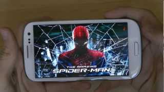 The Amazing Spider-Man For Samsung Galaxy S3 Gameplay & First Hands-On Review