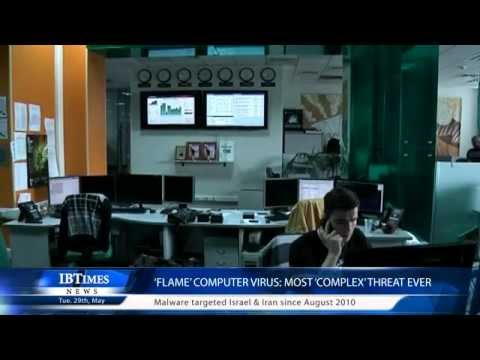 'Flame' computer virus: most 'complex' threat ever