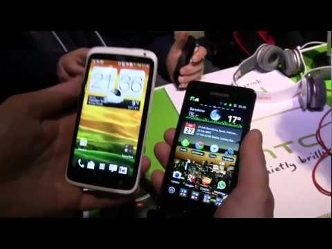 HTC One X vs Samsung Galaxy S2