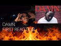Kendrick Lamar DAMN. First ReactionThoughts