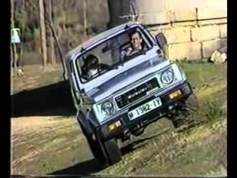 curso de conduccion todoterreno suzuki santana 1988 / offroad driving lessons suzuki santana 1988