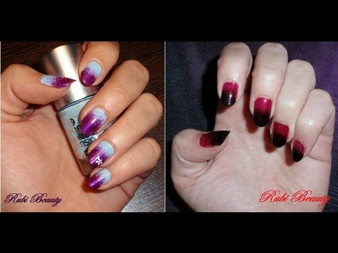 Nail Art Degradado