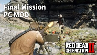 Arthur Kills Micah on Cliff in the Final Mission(PC MOD)- Red Dead Redemption 2