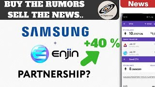 Samsung & Enjin Partnership su Galaxy S10 Rumor | Psicologia del Mercato