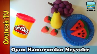Oyun Hamuru ile Meyve Yapımı