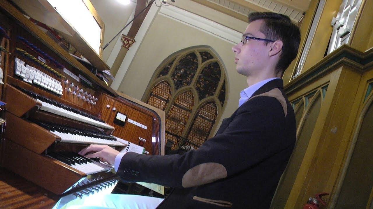 Koncert organowy na święto Cecylii