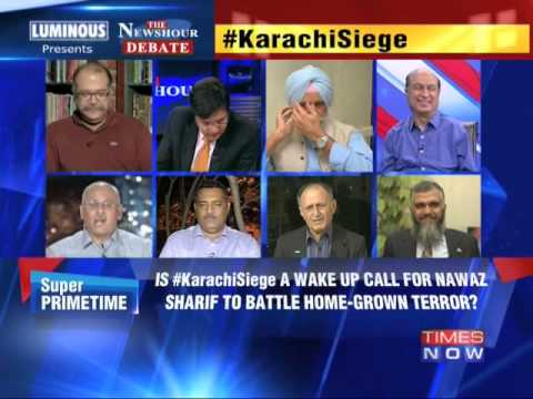 The Newshour Debate: Pakistan stung by Taliban - Full Debate (9th June 2014)