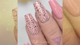 DIY Nails Art- Luxury Long Nails