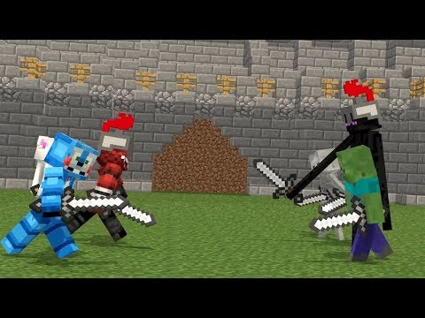 FNAF vs Mobs Life - Minecraft Animation