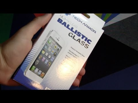 Tech Armor iPhone 5S / 5 Glass Screen Protector Review