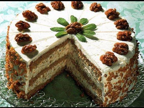 Торт ореховый рецепт в домашних