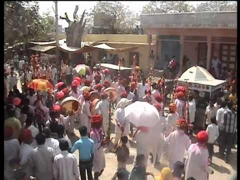 Aai Mata Ji Fagun Gear Seervi Samaj Bader Peepliya Kallan2012 video