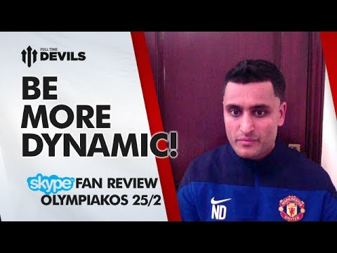 Be More Dynamic! | Olympiakos 2-0 Manchester United | Champions League REVIEW