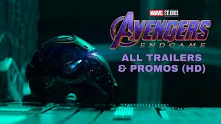 Avengers End game || All trailers & promo in order || HD