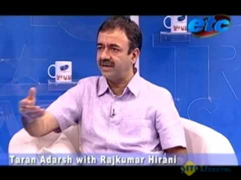 Taran Adarsh with Rajkumar Hirani