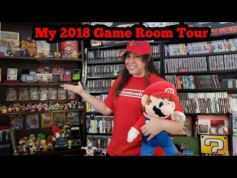 My 2018 Game Room Tour