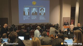 Announcement of the Nobel Prize in Physiology or Medicine 2015
