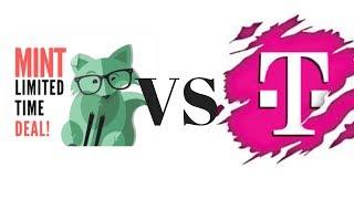 T Mobile One prepaid vs Mint Mobile compare video