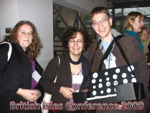 SCBWI British Isles Conference Party Slide Show - Part 1