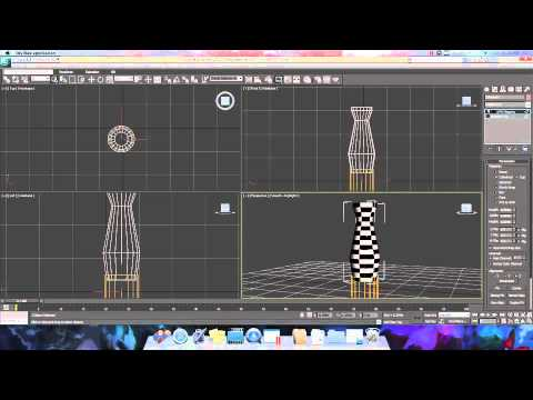 3ds Max Bottle 3ds Max Tutorial For Uvw